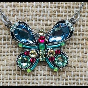 Swarovski Crystal Butterfly Necklace